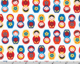 Suzy's Minis - Matryoshka Dolls Country by Suzy Ultman from Robert Kaufman