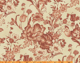 Ophelia CA. 1895 - Mono Toile Terracatta by Nancy Gere from Windham Fabrics