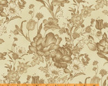 Ophelia CA. 1895 - Mono Toile Cocoa by Nancy Gere from Windham Fabrics