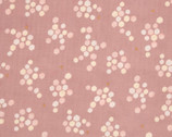 Trefle Cucito DOUBLE GAUZE - Hexagons Honeycomb Pink from Kokka Fabrics