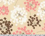Sevenberry Canvas Prints 2 - Flower Pink from Robert Kaufman
