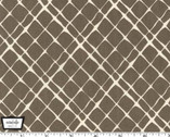 Highlands - Don't Fence Me In - Coco Brown Gray by Violet Craft from Michael Miller