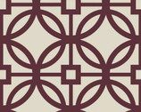 Heirloom - Bordeaux Trellis from Camelot Fabrics