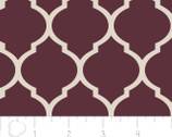 Heirloom - Lattice Bordeaux from Camelot Fabrics