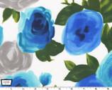 Marilyn Rose - Blue from Michael Miller