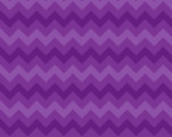 Quilting Basics - Chevron Purple from Springs Creative
