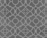 Paris Charm - Trellis Tiles Gray from David Textiles
