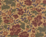 Hawthorn Ridge - Goldenrod Tan Floral from Moda