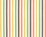 Prairie - Stripe Multi White by Corey Yoder Little Miss Shabby from Moda