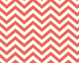 Elk Grove KNIT -  Skinny Chevron Coral from Birch Fabrics