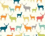 Just for Fun - Elk Fam Multi from Birch Fabrics