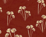 A Time to Mend - Floral Red by Peggy Brown from In The Beginning