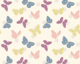 Bunny Garden - Pastel Butterflies from Lewis and Irene
