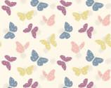 Bunny Garden - Pastel Butterflies from Lewis and Irene