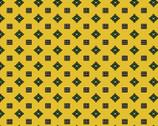 Farm House - Yellow Geometric Dots from Washington Street Studio