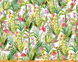 Flamingos - Flamingo Floral by Iza Pearl Design from Windham Fabrics