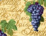 Vineyard Grapes Beige from EE Schenck