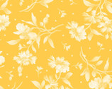 Gradiance - Tossed Floral Yellow Hue from Maywood Studio
