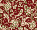 Regent's Park - Paisley Red by Monique Dillard from Maywood Studio