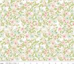 Wonderland 2 - Floral White Sparkle by Melissa Mortenson from Riley Blake