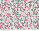 Wonderland 2 - Floral Mint by Melissa Mortenson from Riley Blake
