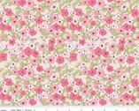 Wonderland 2 - Floral Pink by Melissa Mortenson from Riley Blake