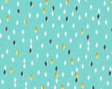 Glint - Gem Turquoise by Lorena Siminovich from Cloud9 Fabrics