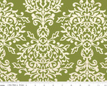 Botanique - Damask Green by Lila Tueller Designs from Riley Blake
