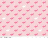 Wonderland - Rabbit Pink by Melissa Mortensen from Riley Blake
