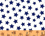 Windham Basics - Brights Stars Blue from Windham Fabrics