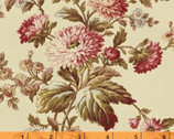 Rosewater - Cream Main Floral by Nancy Gere from Windham Fabrics