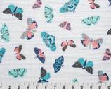 """Embrace - Mariposa Butterfly Mutli- DOUBLE GAUZE 49"""" Wide from Shannon Fabrics"""