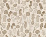 Foxtail Forest - Woodcut Tan from Dear Stella