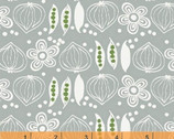 Cucina - Onions and Pea Grey by Victoria Johnson from Windham Fabrics