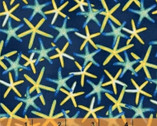 Coral Reef - Starfish Seastar Blue Navy by Whistler Studios from Windham Fabrics