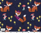 Lil' Foxy - Navy from Michael Miller