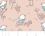 Little Bird - Birds in Pink from Camelot Fabrics