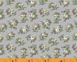 Primrose - Mini Floral Gray Lavender from Windham Fabrics
