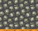 Primrose - Mini Floral Charcoal Gray from Windham Fabrics