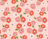 Cotton Garden - Pansies Poplin from Monaluna