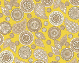 Modern Tyke - Yellow Paisley by Kim and Molly Diehl from Henry Glass