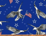 Liberty - Eagles Blue by Whistler Studios from Windham Fabrics