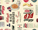 Cereal and Fruit - Kelloggs Light Beige from Spring Creative