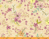 Blush and Blooms - Mini Floral Tan by Iza Pearl Design  from Windham Fabrics