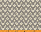 Farm to Table - Stars Gray Tan by Whistler Studios from Windham Fabrics