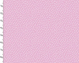 Itty Bitty's - FLANNEL Dots Pink from 3 Wishes Fabric