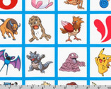 Pokemon - Multi Grid Characters from Robert Kaufman