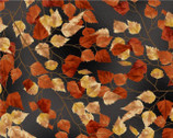 Frosted Fall - Leaves  from Hoffman Fabrics