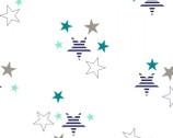 Embrace - Blue Stars Double Gauze from Shannon Fabrics