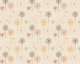 Autumn Palette - Autumn Meadow Beige from Patrick Lose Fabrics